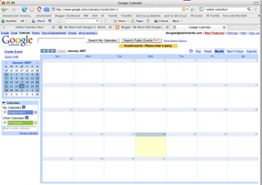 Google Calender Screenshot
