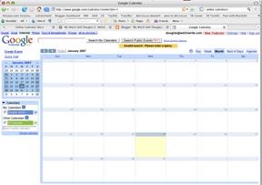 Google Calender Screenshot