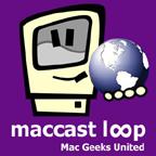 MacCast Loop Logo