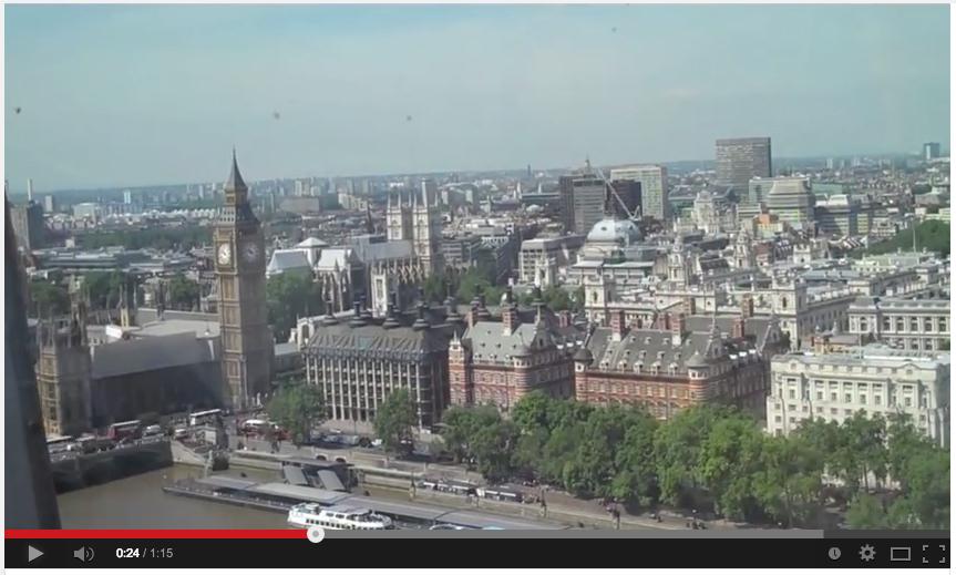 Video: Flight on the London Eye – Timelapse