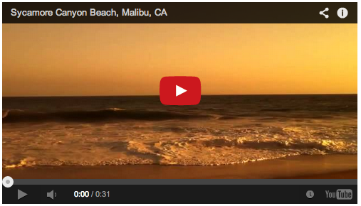 Video: Sunset at Sycamore Canyon