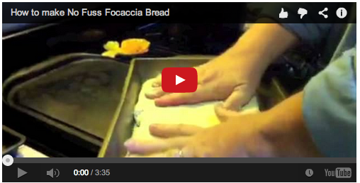 Video: My Word on Food: Making No-Fuss Focaccia
