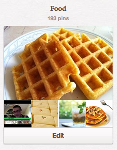 """Follow my Pinterest """"Food"""" Board for lots of great recipes and more!"""