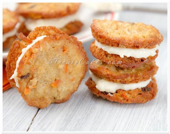 Food: Carrot Cake Cookies