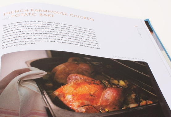 Food: French Farmhouse Chicken and a video on growing mushrooms as a small business