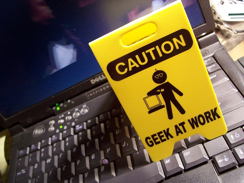 Geek at Work! – Photo-A-Day Nov 13, 2006