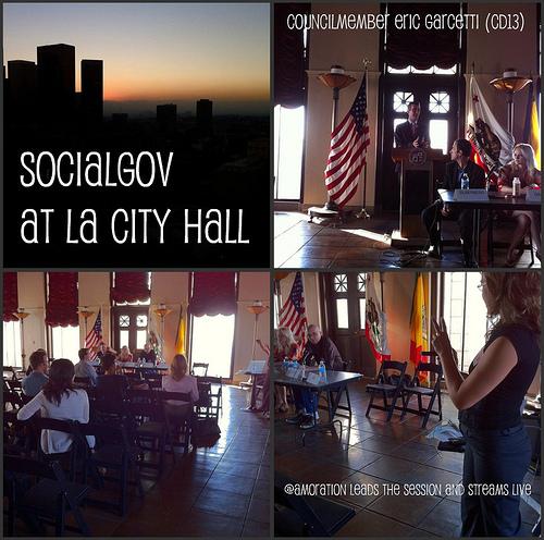 SocialGOV Event at LA City Hall