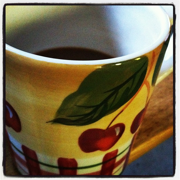 Coffee in my cup