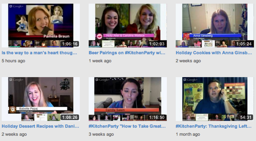 Video: #KitchenParty 2012 – Season 1 – Watch all the shows here