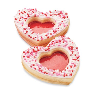 Valentine's Day #12: Sparkling Heart Cookies