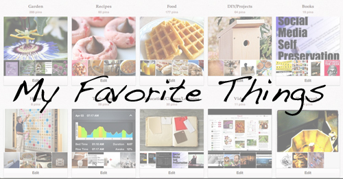 My Favorite Things for January 2013