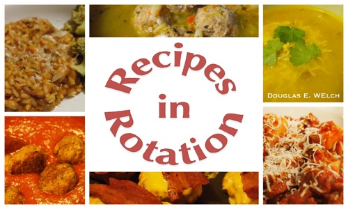 New Cookbook Cafe Cookbook: Recipes in Rotation by Douglas E. Welch
