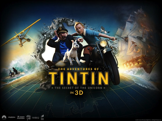 Summer Movie Night 02: The Adventures of TinTin (2011)