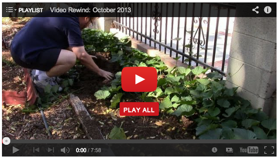 Video Rewind: October 2013: A monthly review of my recent videos