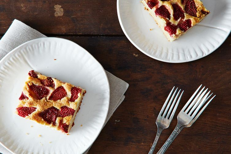 Noted: Strawberry Cake from Food52 #food #recipe