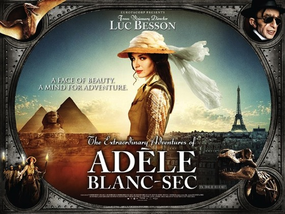 Summer Movie Night 5: The Extraordinary Adventures of Adèle Blanc-Sec