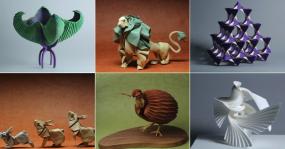 Noted: 17 Pieces of Origami From a Huge New Show About Paper Folding via Gizmodo