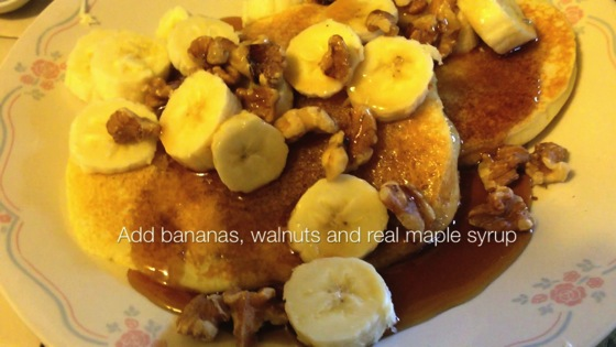 Video: Sunday Morning Pancakes — with recipe