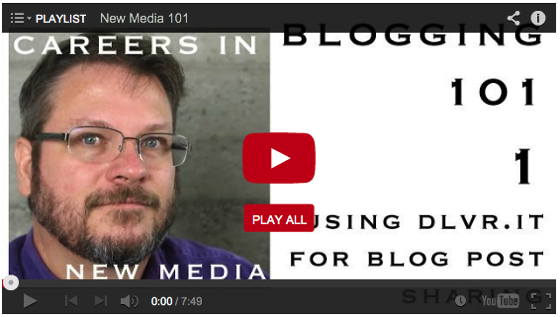 Also on DouglasEWelch.com: New Media 101 Video Series from Careers in New Media