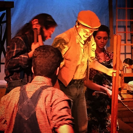 Photo: Water in the well, The Diviners, Providence High School