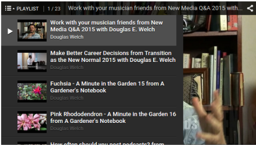 Video Rewind for June 2015 – What did you miss on DouglasEWelch .com? — 23 Videos