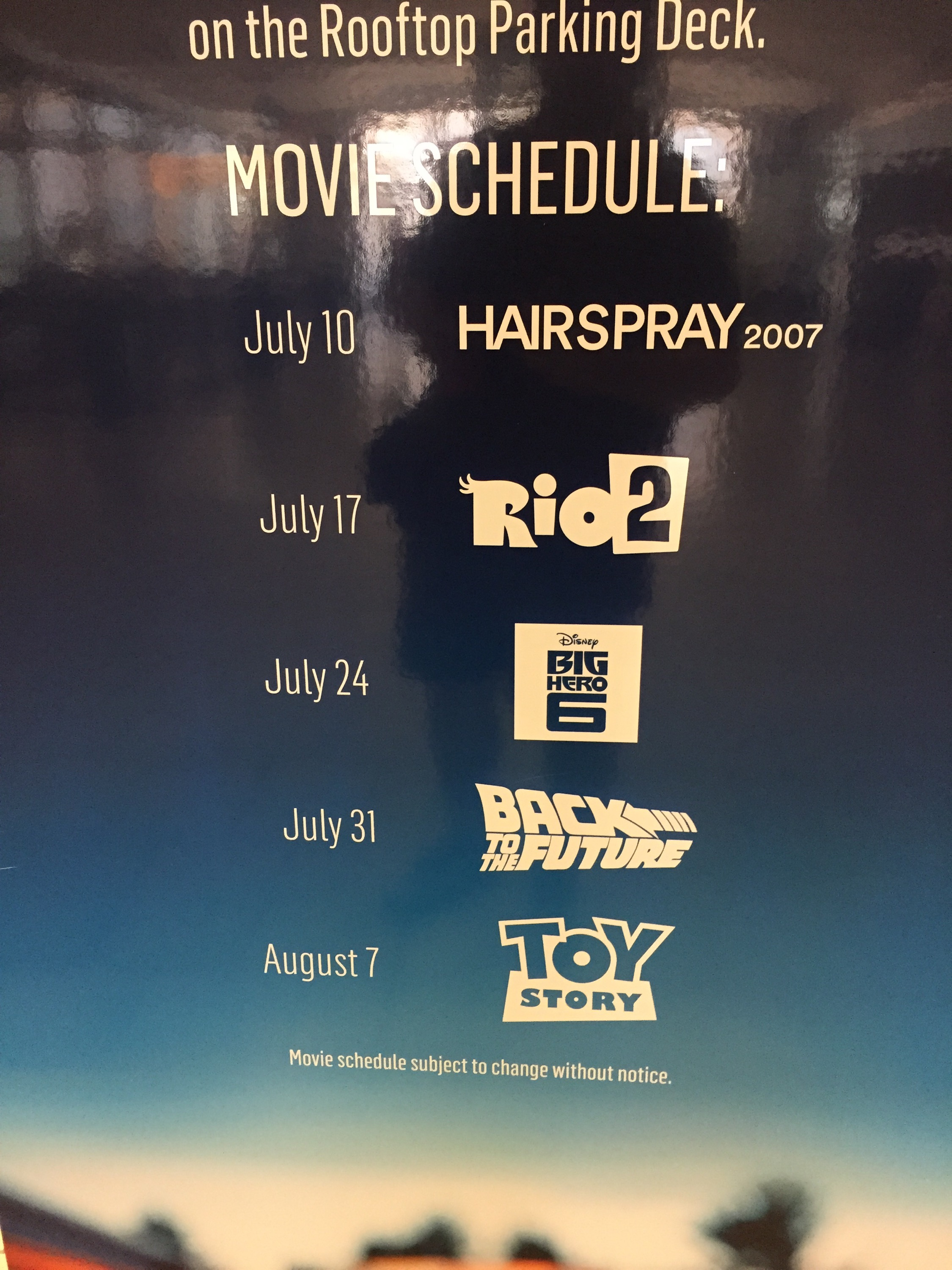 Los Angeles: Free Summer Movies at Westfield Fashion Square