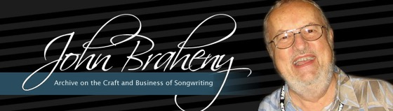 My Work 1: Acting Archivist for The John Braheny Archive on the Craft and Business of Songwriting