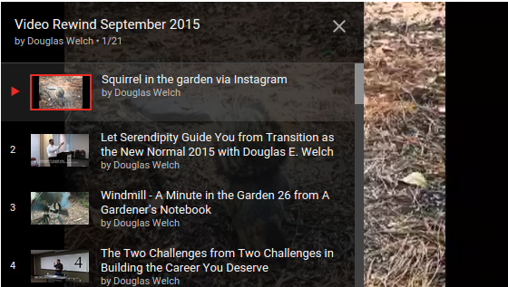 Video Rewind for September 2015 – What did you miss on DouglasEWelch .com? — 21 Videos [Video]