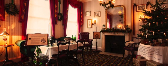 Noted: Step Into A Dickensian Christmas At The Charles Dickens Museum
