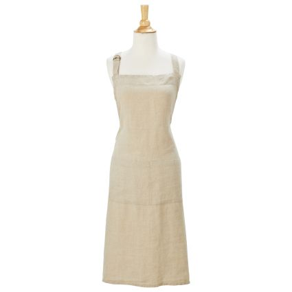 In The Kitchen: Linen Kitchen Apron from Sur La Table on Sale
