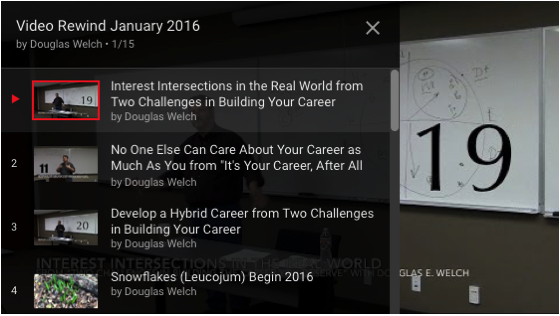 Video Rewind for January 2016 – What did you miss on DouglasEWelch .com? — 15 Videos [Video]