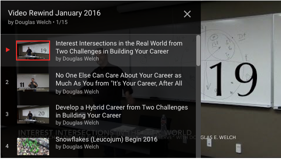 Video Rewind for February 2016 – What did you miss on DouglasEWelch .com? — 14 Videos [Video]