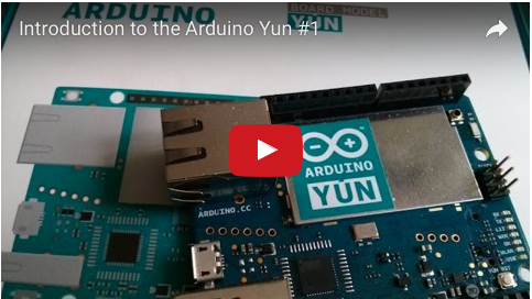 Liked: Introduction to the Arduino Yun #1 [Video]