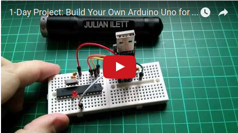 Liked: 1-Day Project: Build Your Own Arduino Uno for $5 [Video]