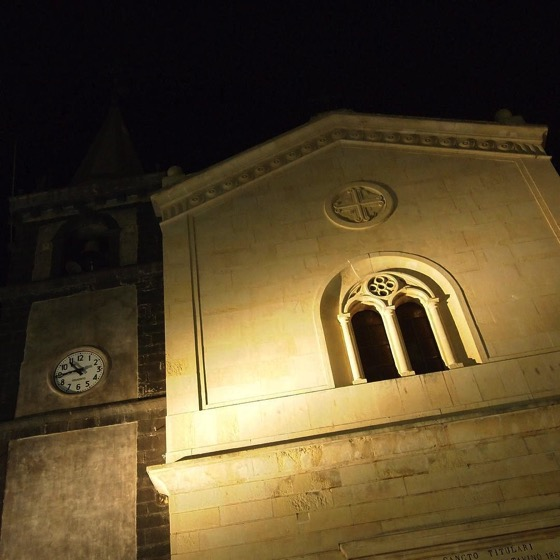 An Evening in Nicolosi  via Instagram [Photo]