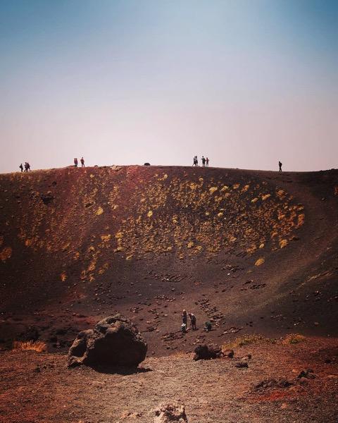 Silvestri Crater, Mount Etna, Sicily via Instagram [Photo]