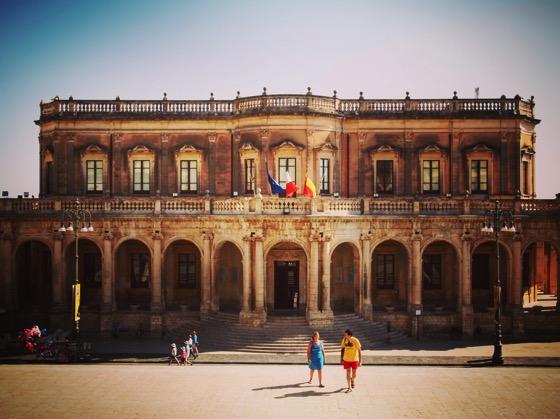 Ducal Palace/City Hall, Noto, Sicily, Italy via Instagram [Photo]