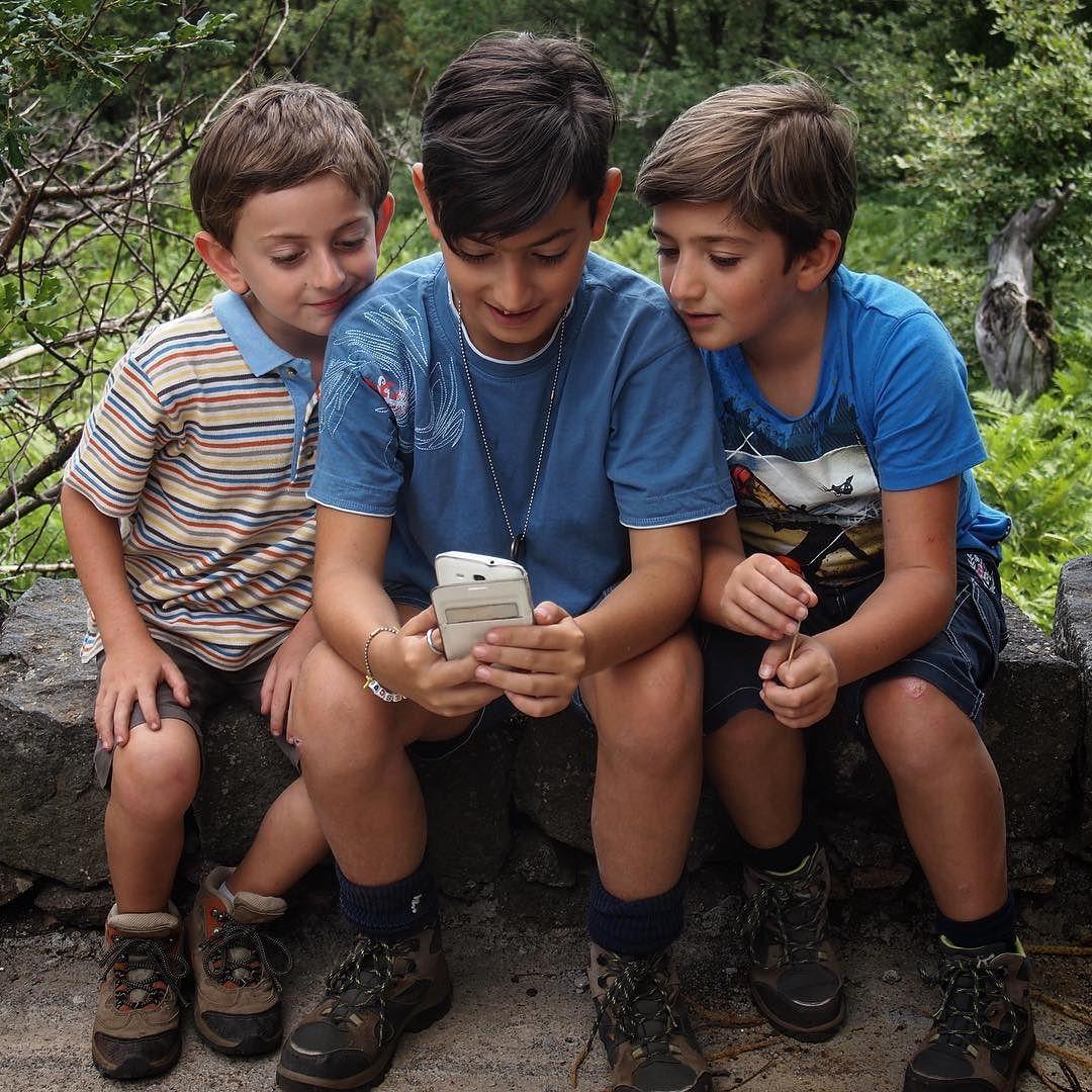 The boys on Mount Etna via Instagram [Photo]