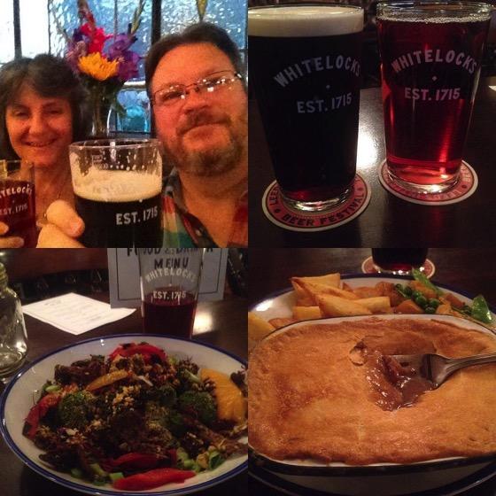 Dinner at Whitelock's, Leeds, UK via Instagram [Photo]