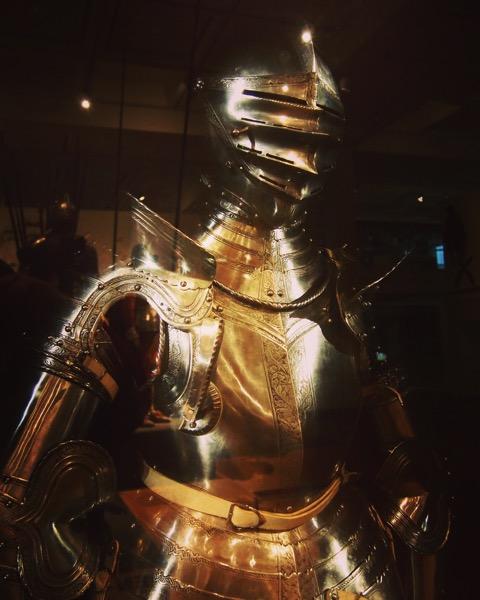 Armor at Royal Armouries Museum, Leeds, UK via Instagram [Photo]
