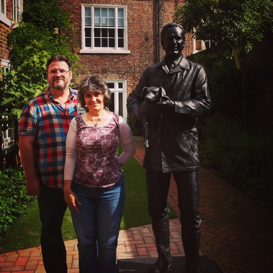Douglas and Rosanne at the World of James Herriot Museum via Instagram [Photo]