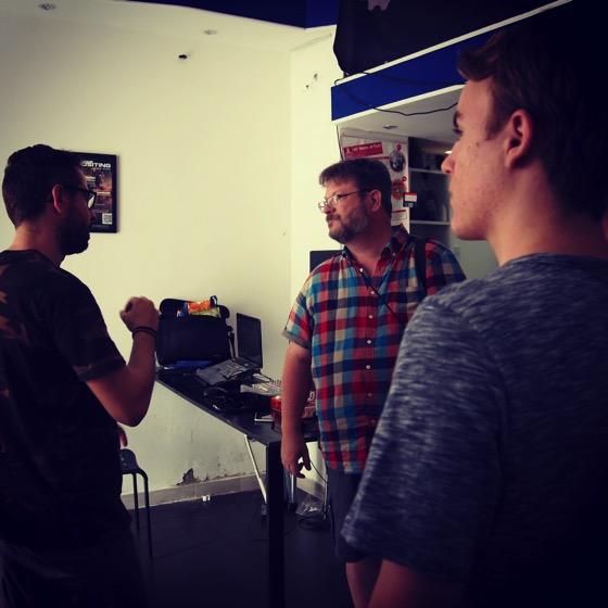 Visiting Hackspace Catania in July via Instagram [Photo]