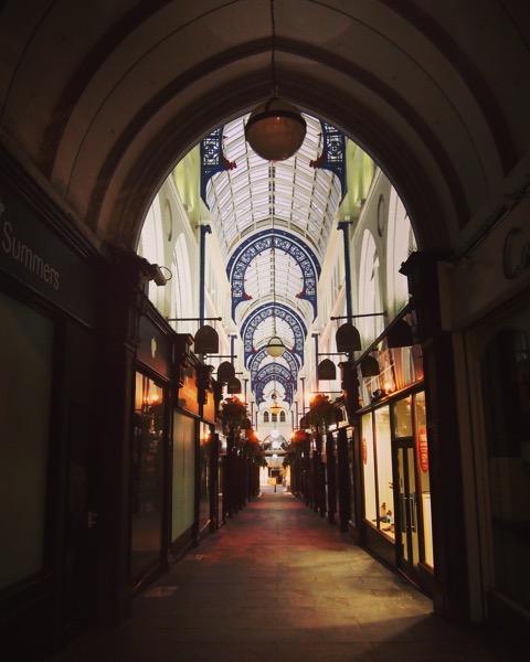 An Arcade in Leeds via Instagram [Photo]