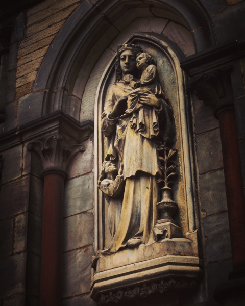Church Sculpture, York, UK via Instagram [Photo]