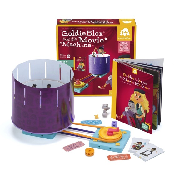 Goldiblox Award Winning Construction Kits for Girls! | Douglas E. Welch Gift Guide 2016 #12