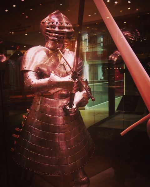 Henry VIII Armour from The Field of the Cloth of Gold (1520) at the Royal Armouries Museum Leeds [Photo]