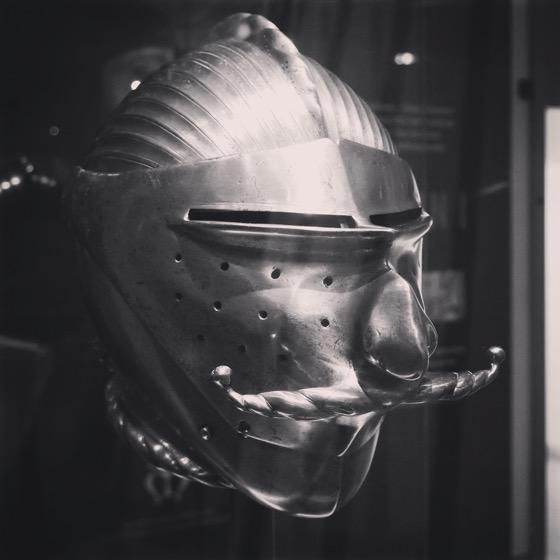 Jousting Helmet, Royal Armouries Museum Leeds, UK [Photo]
