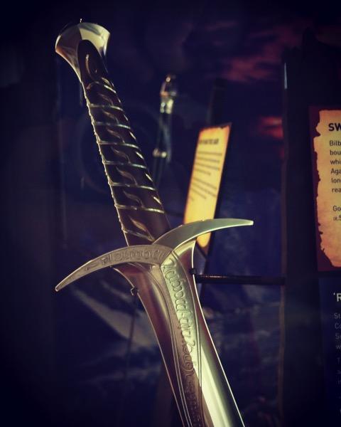 """""""Sting"""" Prop Sword, Royal Armouries Museum, Leeds, UK [Photo]"""