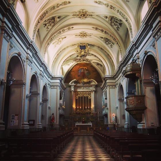 Church Interior, Trecastagni, Sicily, Italy [Photo]