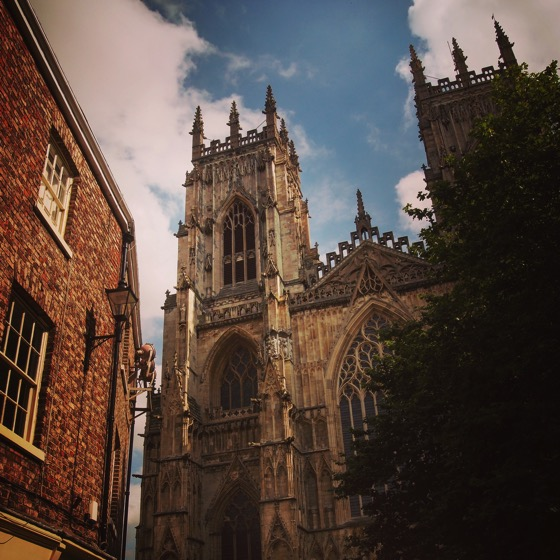 York Minster Exterior, York, UK [Photo]